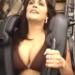 【ちょいエロ】巨乳美熟女が水着でジェットコースターに乗る→超楽しい映像が生まれる